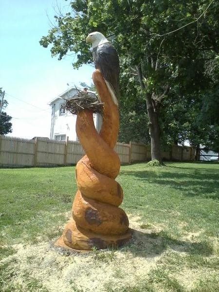 Jays chainsaw carvings frederick md jays chainsaw carvings